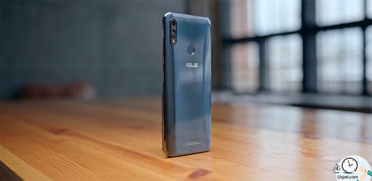 ASUS ZenFone Max Pro M2 Дизайн и функциональность