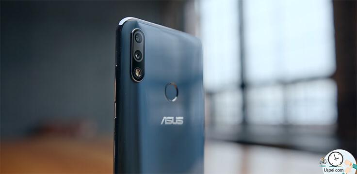 ASUS ZenFone Max Pro M2 у сканера отпечатка тоже молниеносный отклик - 0,3 секунды