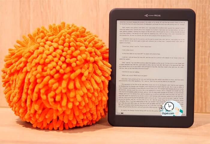 Обзор читалки на Android - AirBook Pro 8S
