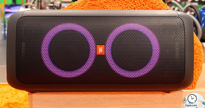 JBL PartyBox 200: подсветка RGB