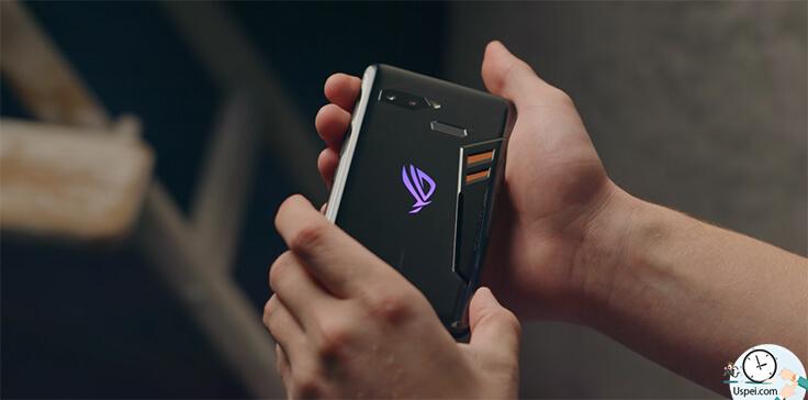 Asus ROG Phone - умеет писать 4к при 60 кадрах в секунду