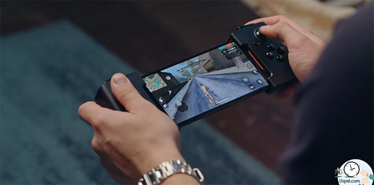 Asus ROG Phone - удобней играть, во-вторых, тупо попроще