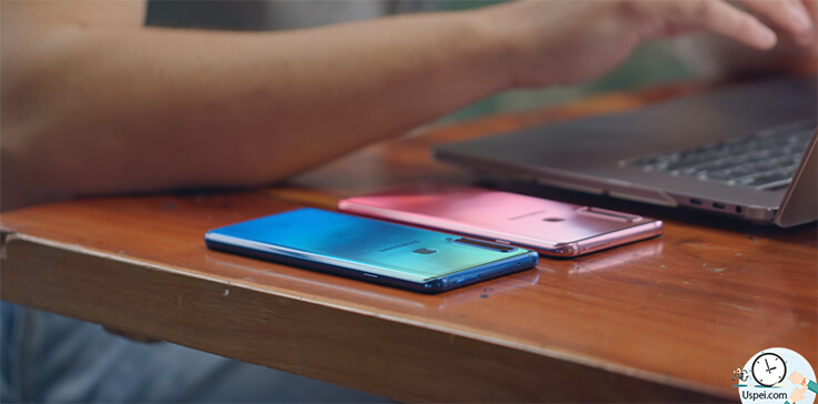 Samsung Galaxy A9 два цвета
