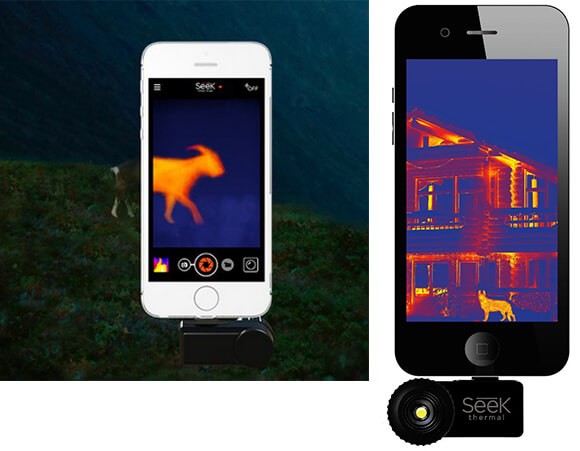 Тепловизор для смартфона Seek Thermal Compact