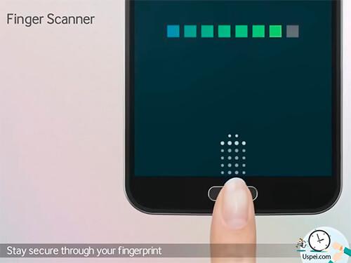 Сканер отпечатков