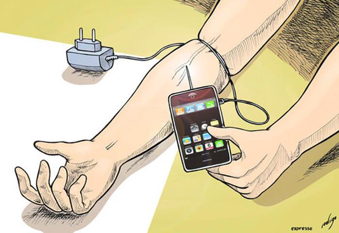 Зависимость от телефона: симптомы и факты