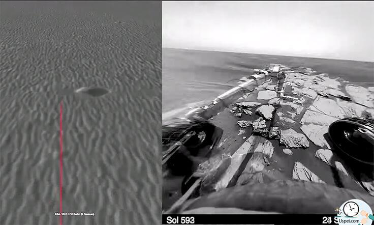 Марсианский ровер Opportunity не выходит на связь