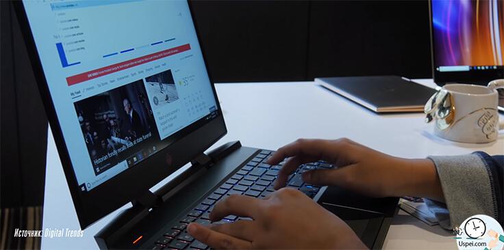 Новый ноутбук HP