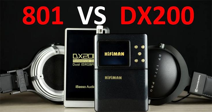 HiFiMan 801 в 2019 и сравнение с iBasso DX200
