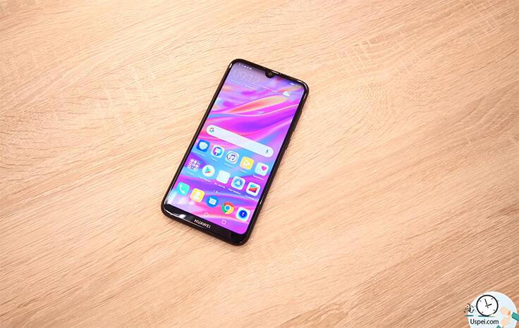 Обзор смартфона Huawei Y7 2019 дизайн