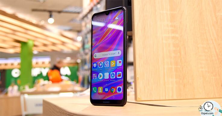 Обзор смартфона Huawei Y7 2019 - автономность