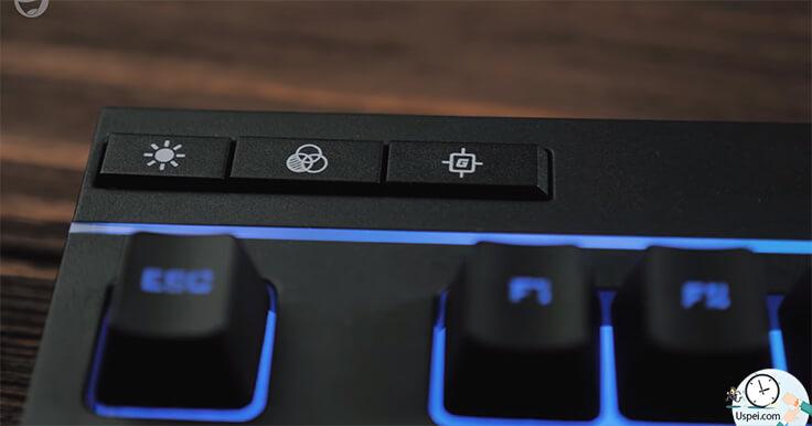 HyperX Alloy Core RGB кнопки управления