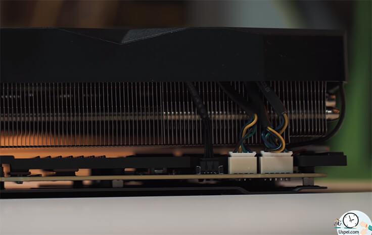 RTX 2080 Ti LIGHTNING Z огромная система охлаждения