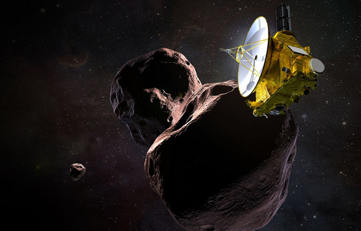 Зонд New Horizonts достиг астеройда в поясе Койпера