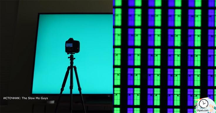 QLED-экран - В LCD-телевизорах картинка зарождается со светодиодов