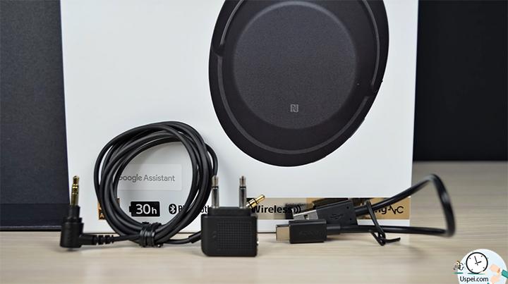Обзор Sony WH-1000xm3 - кабели