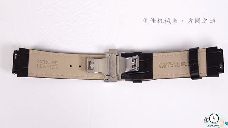 Механические часы скелетоны Xiaomi Ciga Design Creative - ремешок