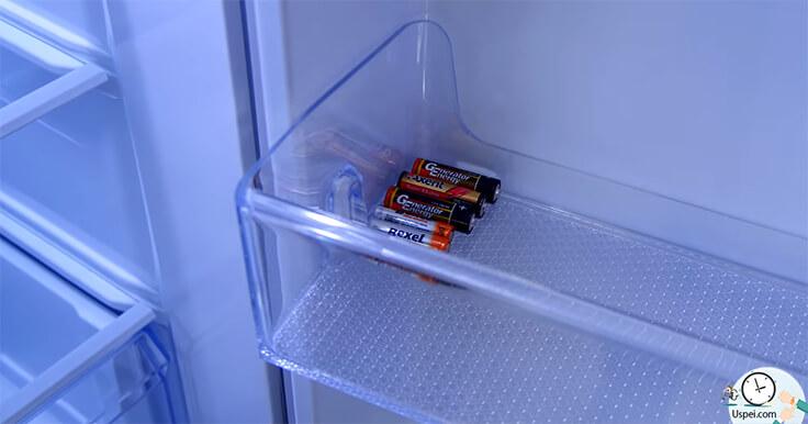 Аккумуляторы лучше хранить в холодильнике?