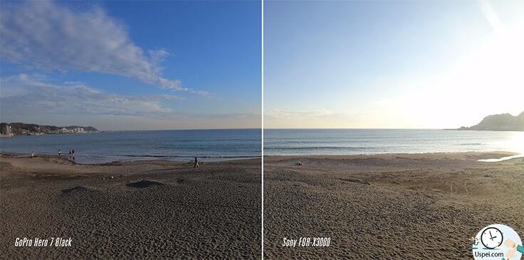 Обзор GoPro Hero 7 и сравнение с Sony FDR-X3000 - пример фото