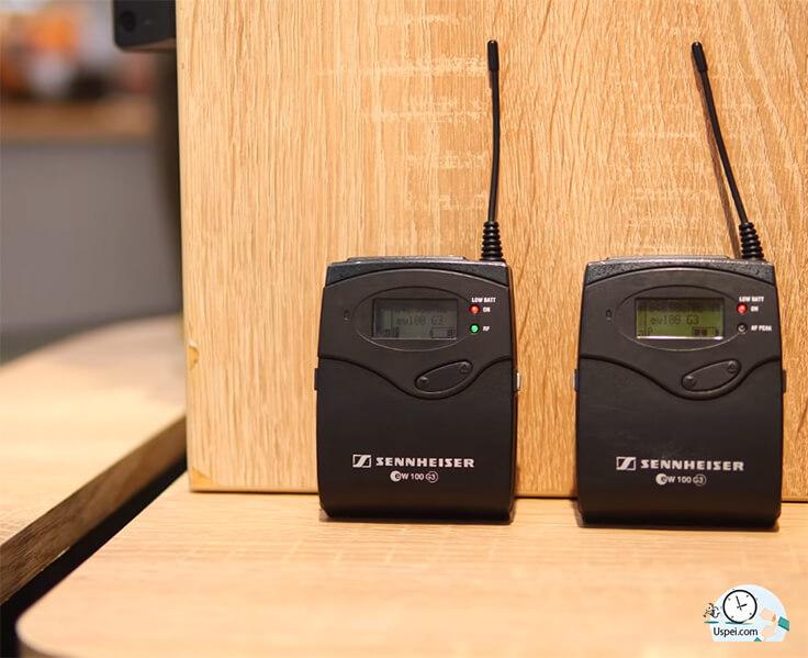 Как только доросли до обзоров сразу взяли радиосистему Sennheiser EW100G3