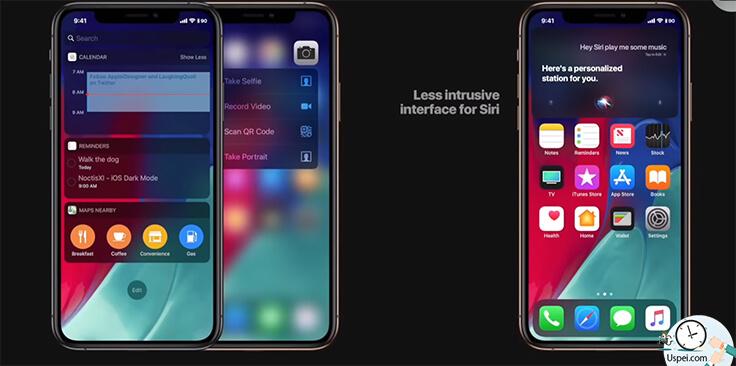 Apple слила iOS 13: Новый главный экран