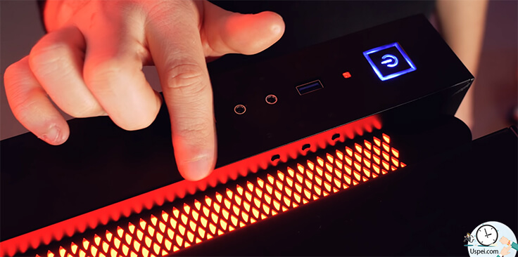 DeepCool New Ark 90 встроенная система жидкостного охлаждения