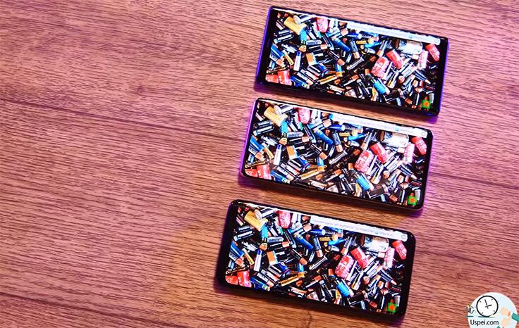 Samsung Galaxy S10+ сравнение с S9+ и Note 9 - HDR 10+