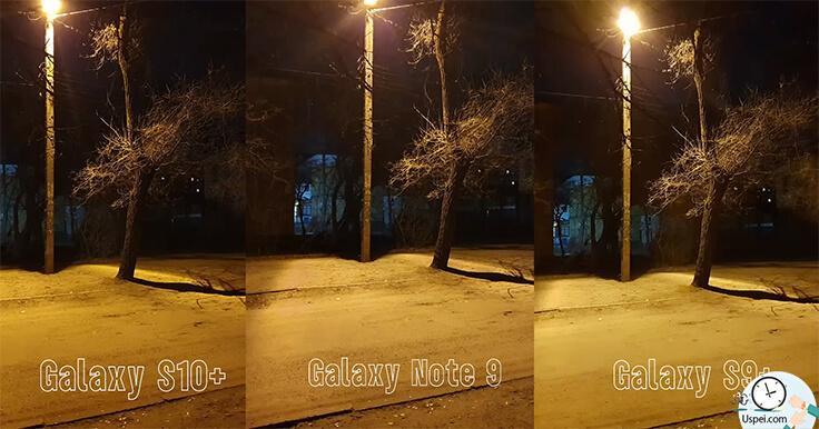 Samsung Galaxy S10+ сравнение с S9+ и Note 9 - примеры фото