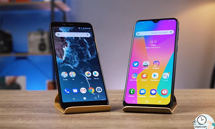 остается только Mi А2 и вот этот красавчик Samsung М20