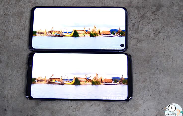 Что лучше: Samsung Galaxy S10e или S9? Дисплей