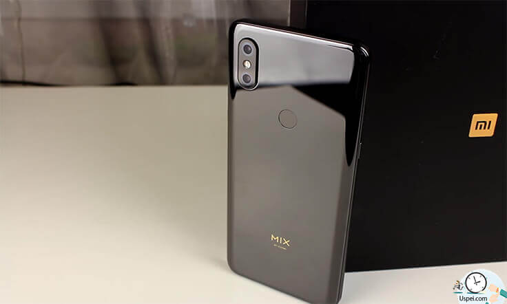 Xiaomi Mi Mix 3 - дизайн