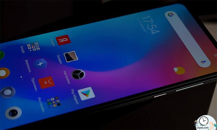 Xiaomi Mi Mix 3 - дисплей