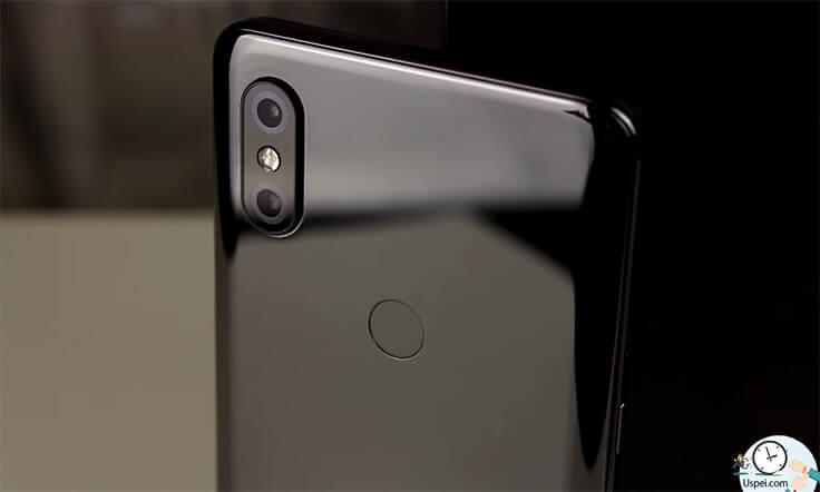 Xiaomi Mi Mix 3 - сканер отпечатков