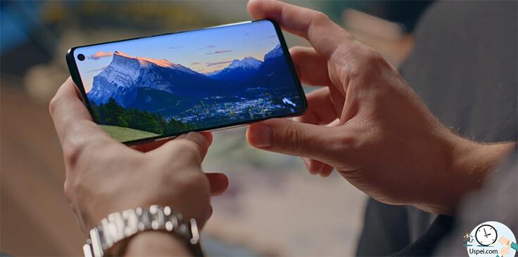 Обзор Samsung Galaxy S10, S10+ и S10e. Дисплей