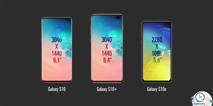 Обзор Samsung Galaxy S10, S10+ и S10e. Три размера дисплея