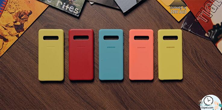 Обзор Samsung Galaxy S10, S10+ и S10e. Чехлы