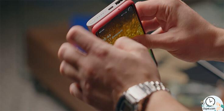 Обзор Samsung Galaxy S10, S10+ и S10e. аксессуар - внешний аккумулятор на 10.000 ма/ч с type-c