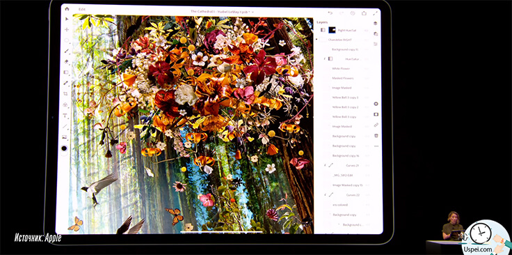 "iPad Pro 11"" и 12.9"": Photoshop это несомненно круто"