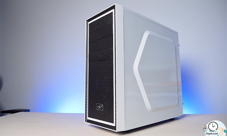 Это Deepcool Tesseract White.