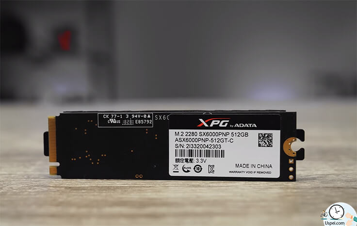ADATA SX6000 с 512 гигабайтами