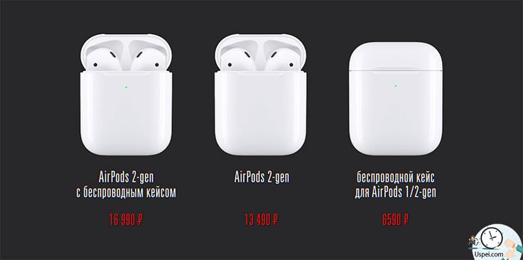 Обзор AirPods 2 - цены