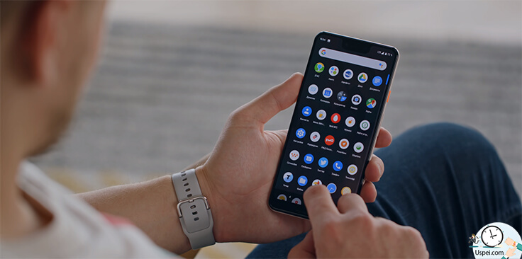 Android Q beta — Приложение «файлы»