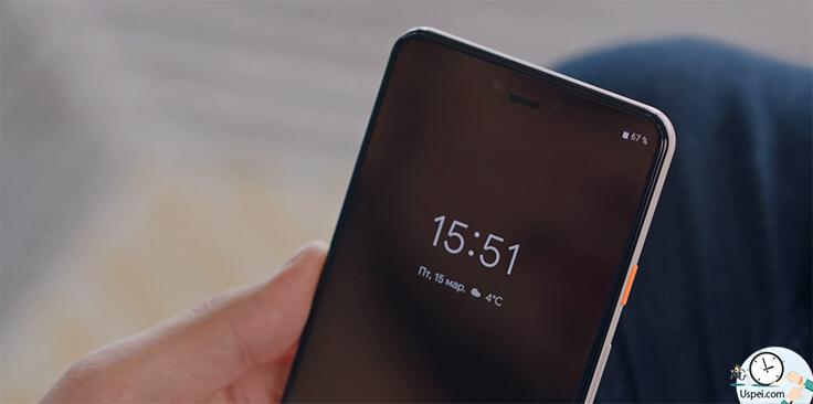 Android Q beta — На экране блокировки заряд батареи переместился в привычный верхний правый угол