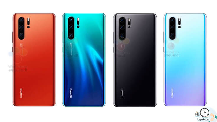 Обзор Huawei P30 Pro – расцветки