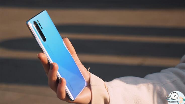 Обзор Huawei P30 Pro – дизайн
