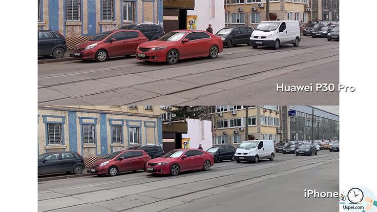 Обзор Huawei P30 Pro – пример видео