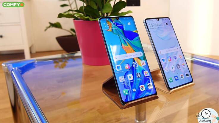 Huawei P30 Pro матрица закругленная