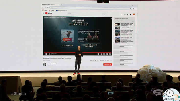 Google представила стриминговый сервис для игр STADIA