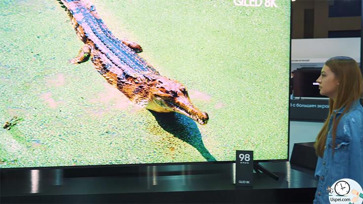 Самый большой телевизор QLED 8K - Samsung Forum 2019