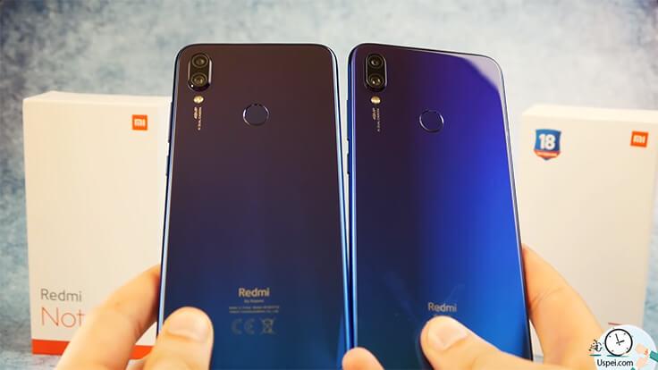 Сравнение ГЛОБАЛЬНОГО Redmi Note 7 и китайской версии - сами телефоны абсолютно идентичны